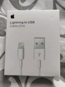Apple Lightning to USB cables (2m)