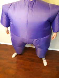 Blow up morphsuit