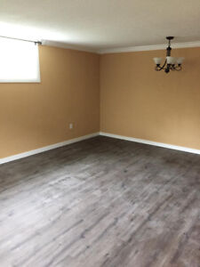 Newly renovated 3 bedroom basement suite for rent in Kitimat