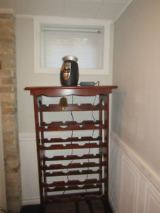 Wine rack.....cooler