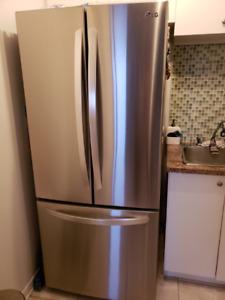 New fridge and stove