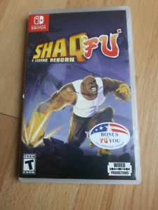 Shaq Fu nintendo switch