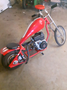 6 hp mini chopper NEED GONE