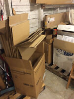 Moving Boxes - includes U-Haul brand