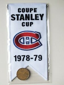 CENTENNIAL STANLEY CUP 1978-79 BANNER MONTREAL CANADIENS HABS Gatineau Ottawa / Gatineau Area image 2