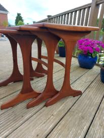Stylish 1960's G Plan Teak Nest of Tables