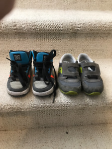 Dc and Saucony kids shoes $5 for both