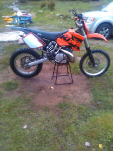 Mint condition KTM 300 exc trade/sell
