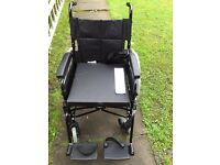 Large black wheelchair - brand new