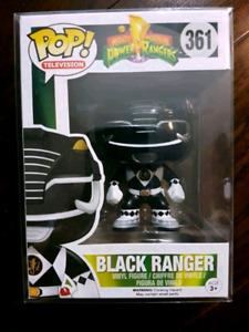 Black Power Ranger Funko pop - MINT + FREE GIFT