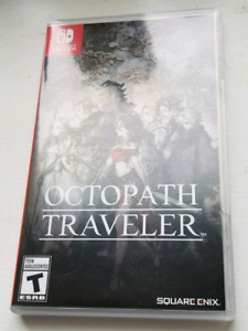 I want MARIO ODYSSEY trade Octopath Traveller. NINTENDO SWITCH