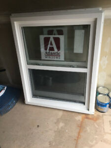 "Two Brand New 51.5"" by 41.5"" Casement Windows"