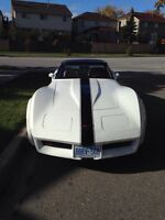 1981 Corvette for sale or trade for ATV's and trailer