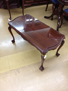 Rare Gibbard Clawfoot Coffee Table