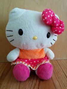 Peluches Hello Kitty et Pot Hello Kitty en excellent état