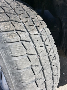 Blizzak WS80 now tires. 225/60/R17