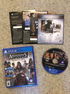 PS4 Assassin's Creed Syndicate mint shape PlayStation downtown