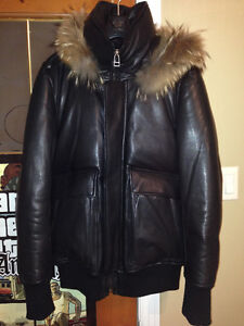 NEUF MACKAGE CUIR TAILLE 38 / NEW MACKAGE LEATHER SIZE 38