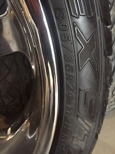"24"" boss rims with 80% rubber Moose Jaw Regina Area image 3"