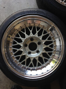Ronal / ACT LS - 17x8.5 - $2000 North Shore Greater Vancouver Area image 4