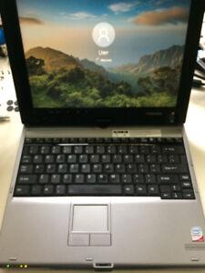 Toshiba M400 Tablet PC C2D 1.7ghz, 160GB HD, 2GB Ram, Win 10 Pro