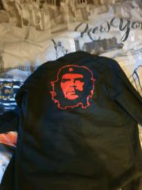 Che Guevara Black lightweight field Jacket .Size Large regular fit