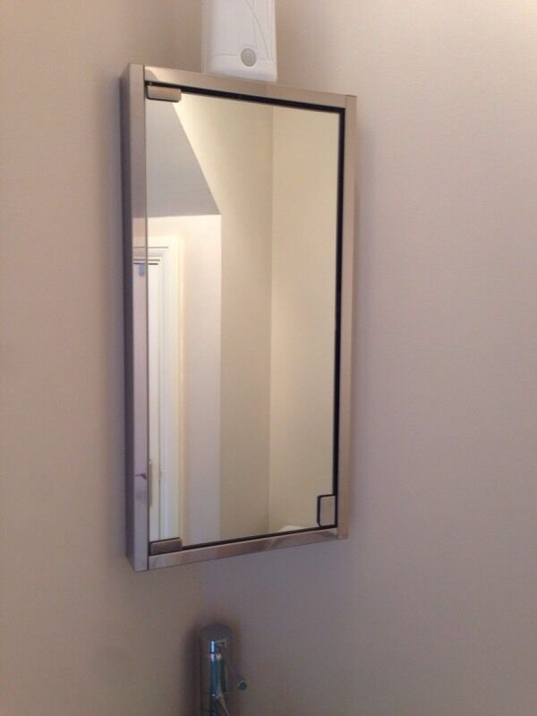 next bathroom mirror corner bathroom mirror from next in gartcosh glasgow 13817