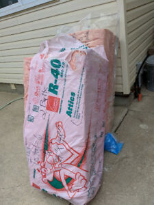 DIY Batts of Insulation leftover from several projects