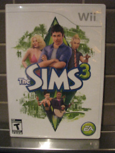 Jeux wii The Sims 3