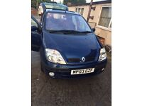 Renault Megane scenic 16v 53,000 Full service history all the bills