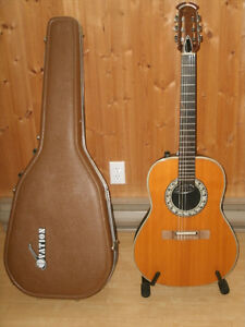 1974 OVATION 1624 - 4 COUNTRY ARTIST CLASSICAL ACOUSTIC ELECTRIC