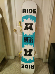 RIDE ANTIC Snowboard with RIDE Bindings