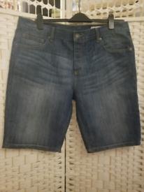 Sale! Denim Men Shorts 38