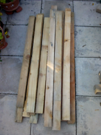 19 Pallet wood. 8.5cm X 3cm X 1.1m Ready to be reused.