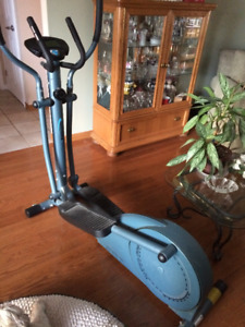 almost new eliptical trainer for sale.