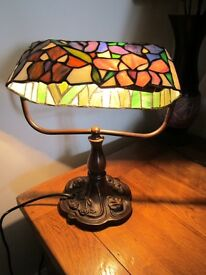Tiffany Desk/Table Lamp - Good Quality Excellent Condition!