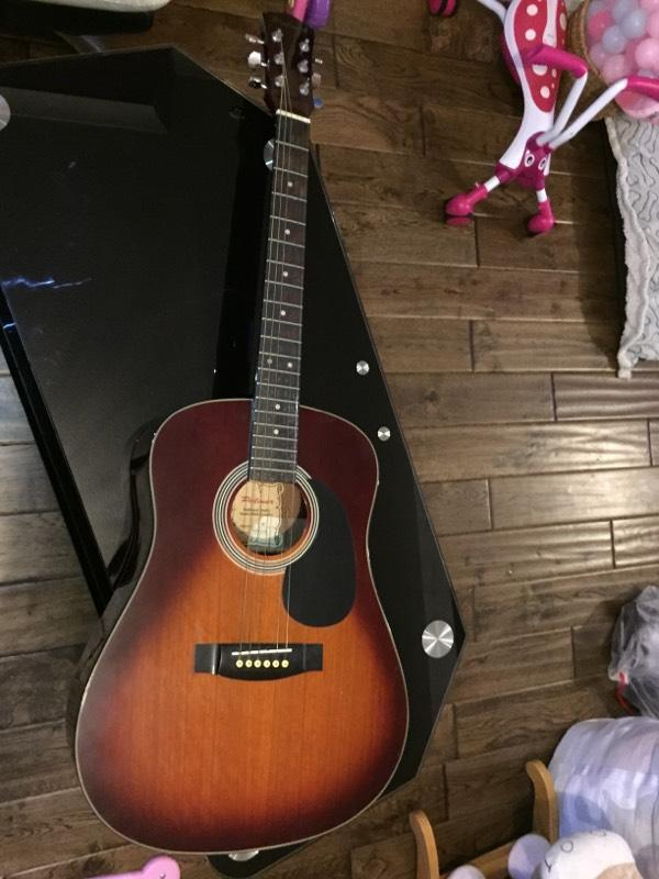 palmer 6 string acoustic full size guitar in eynesbury cambridgeshire gumtree. Black Bedroom Furniture Sets. Home Design Ideas
