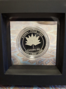 coin error canada 150 logo medal-I am selling this coin