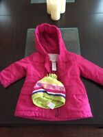 Gymboree Winter Jacket and Hat 12-24 months
