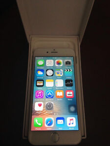 Silver iPhone 6 -16gb , mint condition