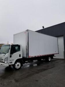 camion isuzu 2018 22 pied