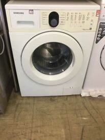 SAMSUNG 1400 spin, 7kg drum, Washing Machine