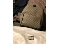 Men's Gucci backpack