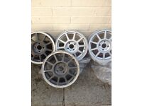 Corsa alloy wheels/Vauxhall alloys/astra/4stud/may fit more/vw?renault?clio/polo etc Offers