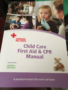 Child Care First Aid and CPR Manual