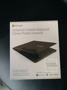 Microsoft Universal foldable wireless keyboard brand new in box