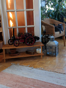 1 - 1/10 scale Markie steam traction engine..