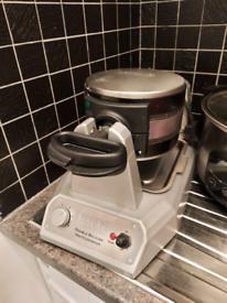 Waring Double waffle iron maker