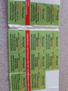 golf coupons  - Kingswood Golf or Mactaquac, Fredericton ( 2018)