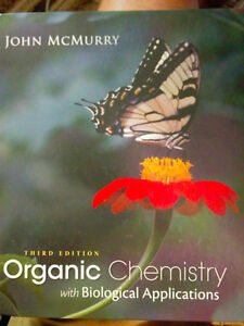 Organic Chemistry with Bio. Applications 3rd Ed. Textbook